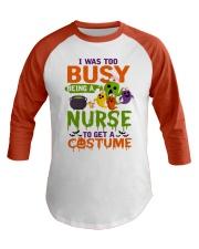 Nurse Baseball Tee front