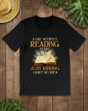 Great Shirt for Librarians Classic T-Shirt lifestyle-mens-crewneck-front-18