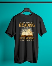 Great Shirt for Librarians Classic T-Shirt lifestyle-mens-crewneck-front-3