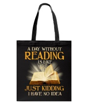 Great Shirt for Librarians Tote Bag thumbnail