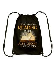 Great Shirt for Librarians Drawstring Bag thumbnail
