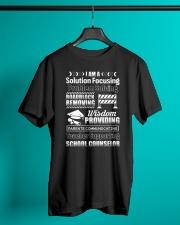 School Counselor Classic T-Shirt lifestyle-mens-crewneck-front-3