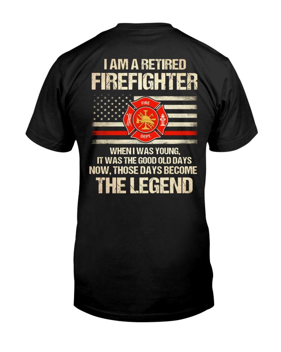 T-Shirt for Great Firefighters Classic T-Shirt