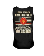 T-Shirt for Great Firefighters Unisex Tank tile