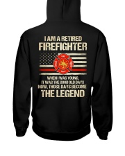 T-Shirt for Great Firefighters Hooded Sweatshirt tile