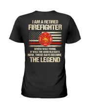T-Shirt for Great Firefighters Ladies T-Shirt tile