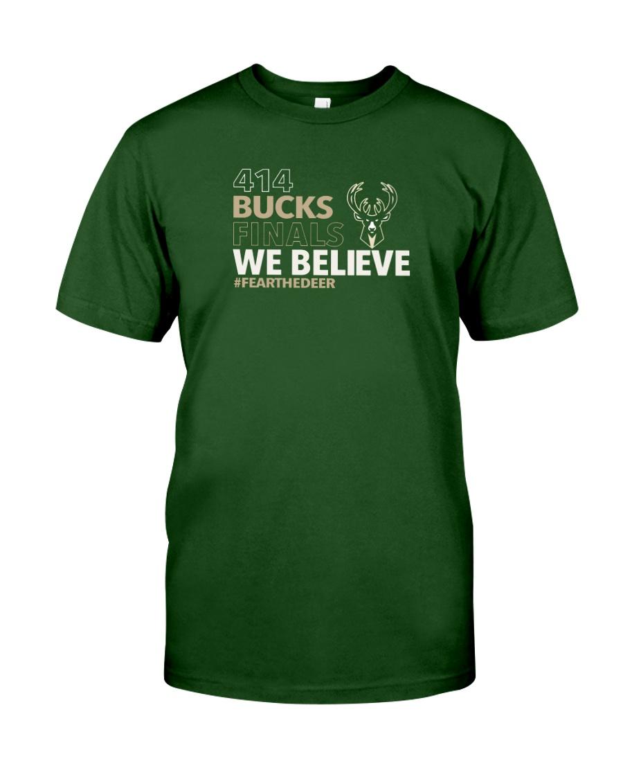 414 Bucks Final We Believe Fearthedeer Tee Shirt