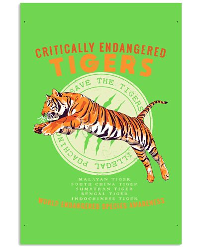 Save the Tigers - Endangered Species Awareness