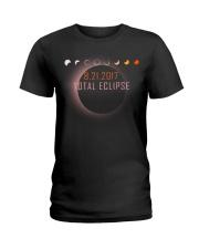 Total Eclipse 2017 Ladies T-Shirt thumbnail