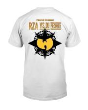 Verzuz - Rza vs Premier Classic T-Shirt back