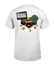 FullblastRadio Camo Edition Classic T-Shirt back