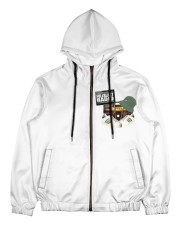 FullblastRadio Camo Edition Men's All Over Print Full Zip Hoodie thumbnail