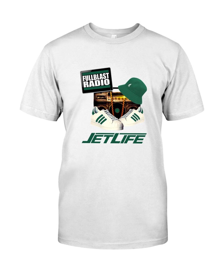 Fullblastradio JetLife Apparel Premium Fit Mens Tee