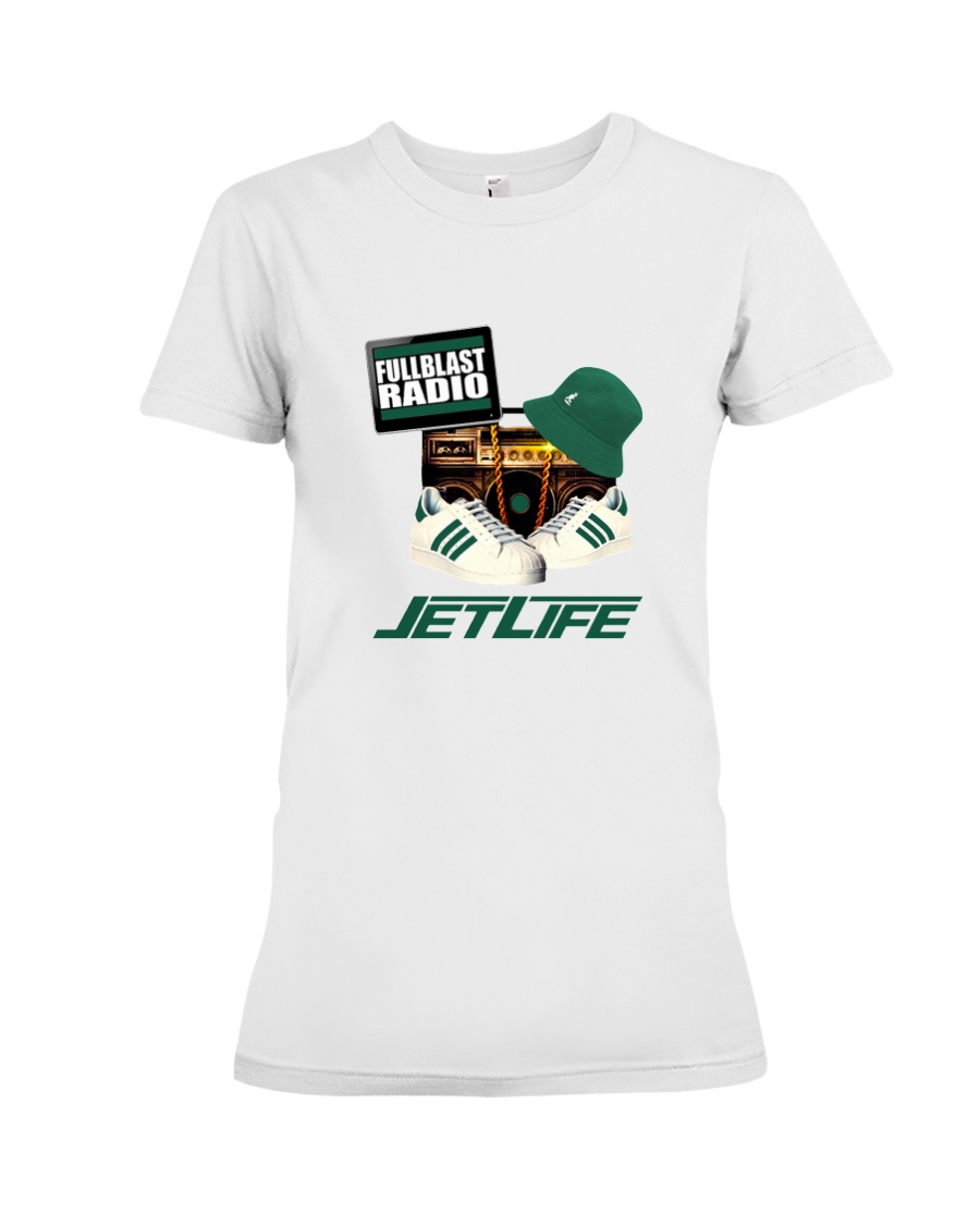 Fullblastradio JetLife Apparel Premium Fit Ladies Tee