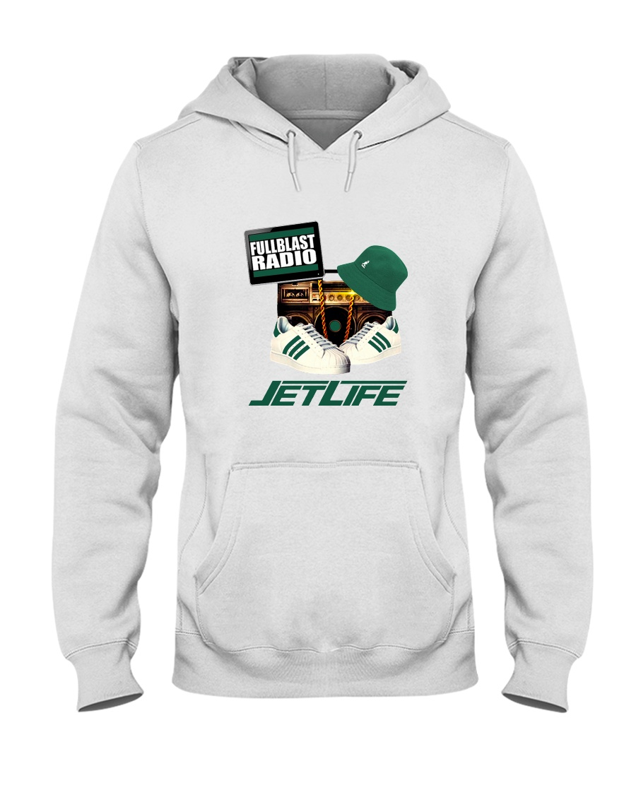 Fullblastradio JetLife Apparel Hooded Sweatshirt