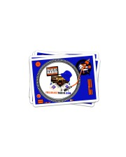 Fullblastradio Stickers Sticker - 4 pack (Horizontal) front