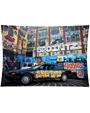 "5 Pointz Graffiti Wall Tapestry - 36"" x 26"" thumbnail"