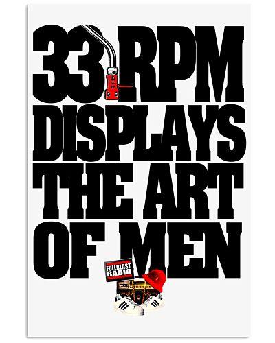 33 RPM DISPLAYS THE ART OF MEN