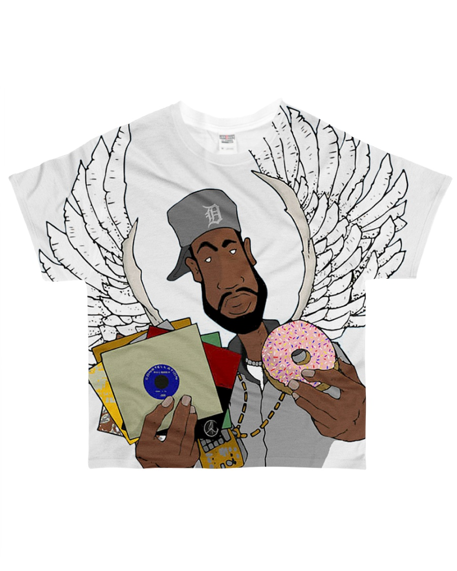 Dilla Angel All-over T-Shirt
