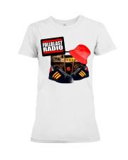Fullblast Radio New Version Logo Premium Fit Ladies Tee thumbnail