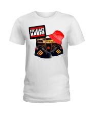 Fullblast Radio New Version Logo Ladies T-Shirt thumbnail