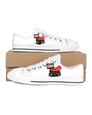 Fullblast Radio New Version Logo Men's Low Top White Shoes thumbnail