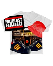 Fullblast Radio New Version Logo All-over T-Shirt back