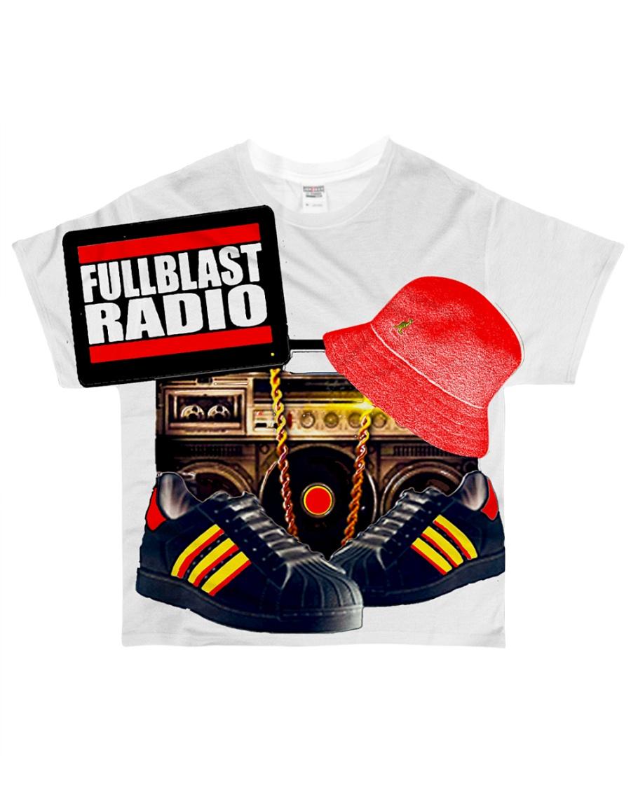 Fullblast Radio New Version Logo All-over T-Shirt