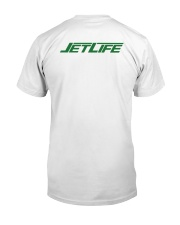 Fullblastradio JetLife Premium Fit Mens Tee back