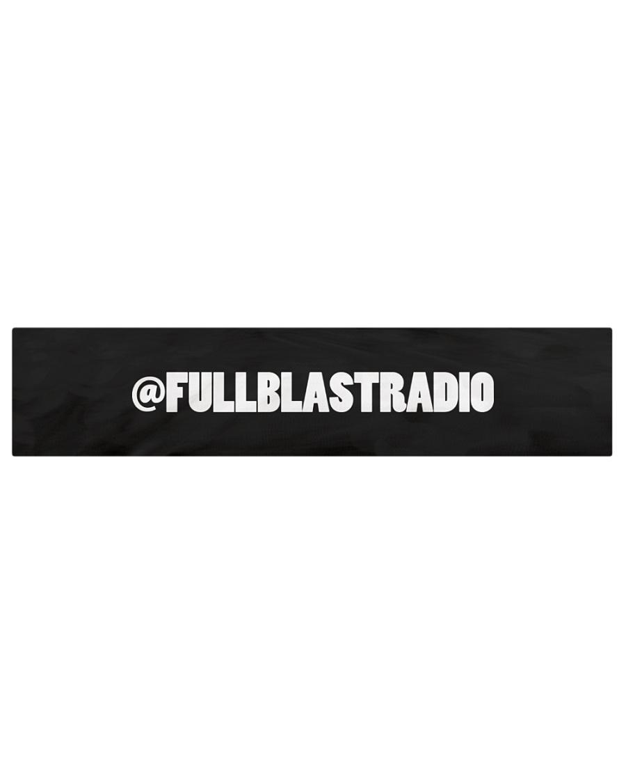 "Fullblastradio Social IG Table Runner - 72"" x 16"""