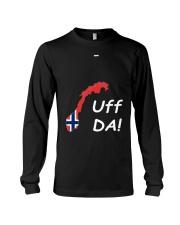 Fun Norwegian Uff Da T Shirt For Women Men Youth Long Sleeve Tee thumbnail