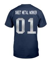 Sheet Metal Worker Classic T-Shirt back