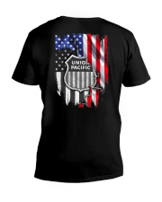 Union Pacific Railroad V-Neck T-Shirt thumbnail