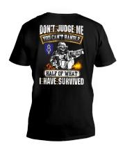 8th Infantry Division V-Neck T-Shirt thumbnail