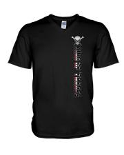 IRONWORKER V-Neck T-Shirt thumbnail