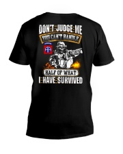 82nd Airborne Division V-Neck T-Shirt thumbnail