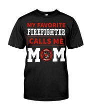 Firefighter Mom Classic T-Shirt front