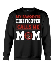 Firefighter Mom Crewneck Sweatshirt thumbnail