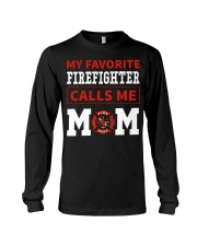 Firefighter Mom Long Sleeve Tee thumbnail