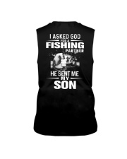 THE LEGEND FISHING WITH SON Sleeveless Tee thumbnail