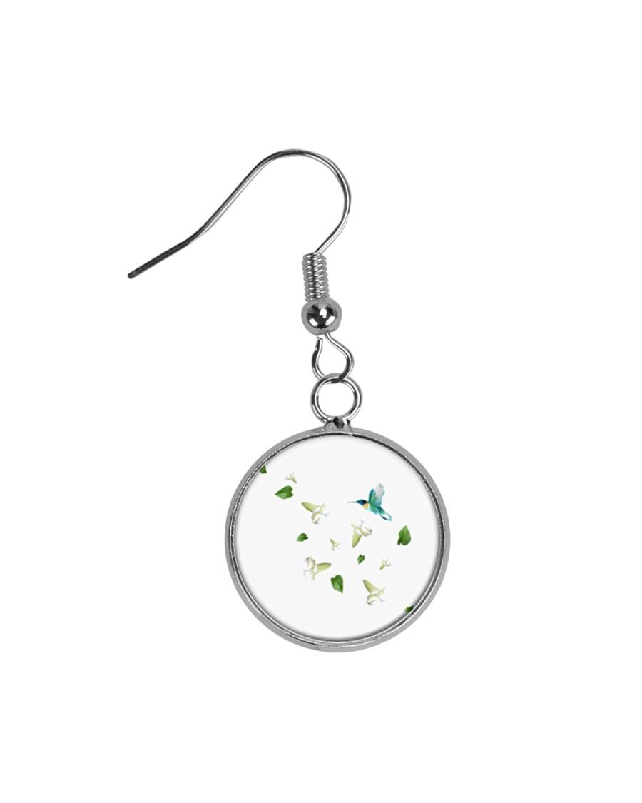 Beautiful Nature Earrings Circle Earrings