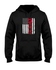 Usa sewing flag Hooded Sweatshirt thumbnail