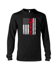 Usa sewing flag Long Sleeve Tee thumbnail