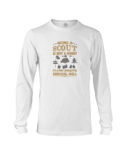 Scout it s a post apocalyptic survival skill Long Sleeve Tee thumbnail