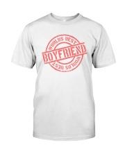 Boyfriend worlds best boyfriend Classic T-Shirt front