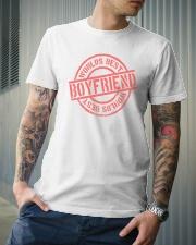 Boyfriend worlds best boyfriend Classic T-Shirt lifestyle-mens-crewneck-front-6