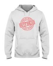 Boyfriend worlds best boyfriend Hooded Sweatshirt thumbnail