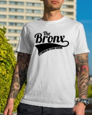 The bronx where my story begins 3 Classic T-Shirt lifestyle-mens-crewneck-front-8