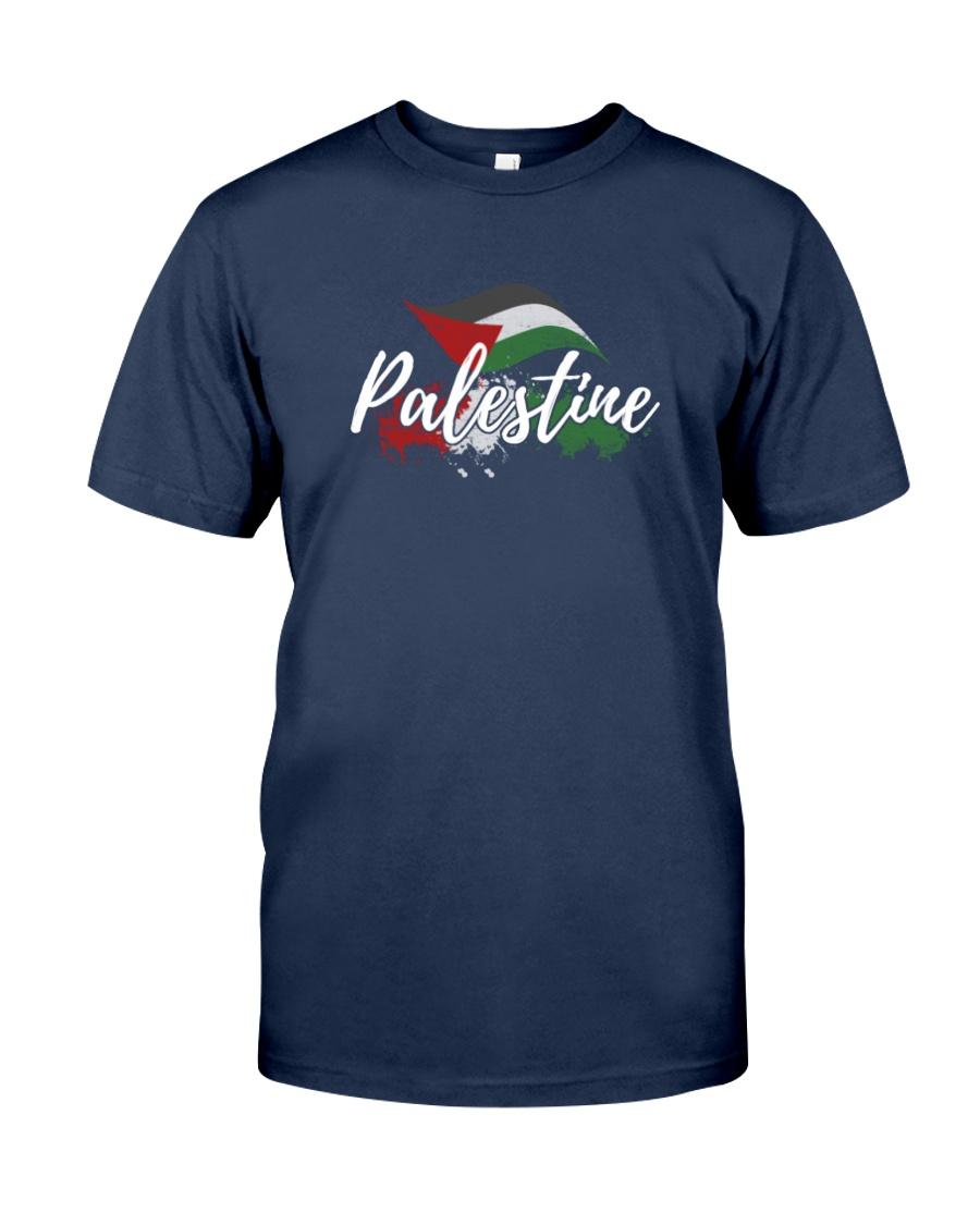 Palestine Flag Shirt Design Classic T-Shirt