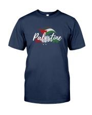 Palestine Flag Shirt Design Classic T-Shirt front